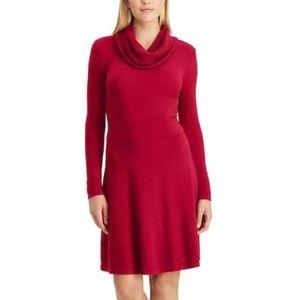 Chaps Plus Size Sweater Dress Holiday Fashion New